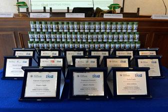 i premi del concorso Obiettivo Terra