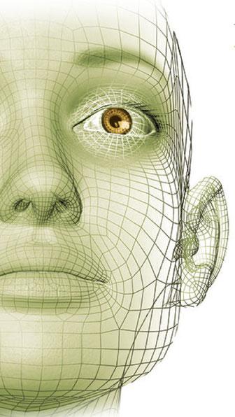 NeuroScanBalance Allgemein - Gesicht grün