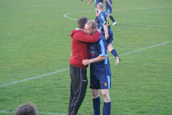 Matchwinner des Spiels war ohne Zweifel Torsten Fiebelkorn (rechts)