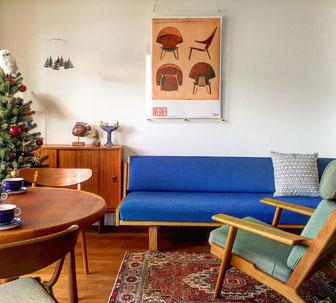 上質なインテリアに囲まれて暮らす 北欧ビンテージ家具の販売