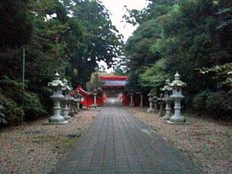 息栖神社 神門