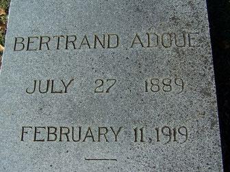 Tombe de Bertrand - Bertrand's grave - FindaGrave.com