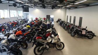 Motorradausstellung Motorrad Kolb