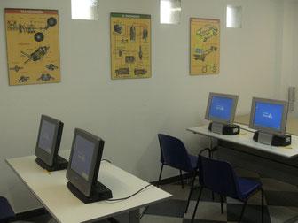 Test a ordenador Villena, Autoescuela Yeste