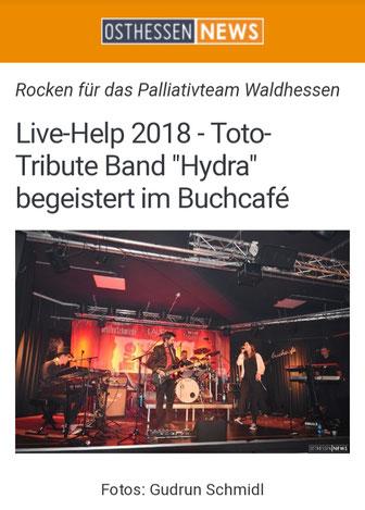 Bericht der Osthessen News, online auf www.osthessen-news.de