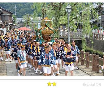 八重垣写真館さん: 佐原の大祭 夏祭り