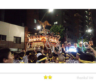千囃連さん: 鳥越祭