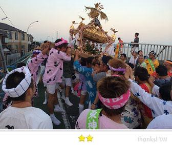 恵利子さん: 羽田神社例大祭「羽田まつり」