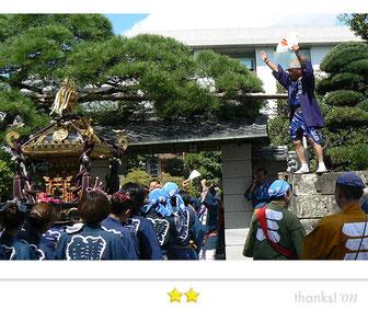 Team LUNAさん:葛飾区鎌倉八幡神社例大祭