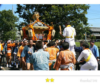 Team LUNAさん: 東水元日枝神社例大祭