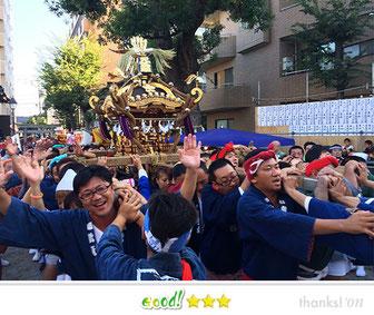 恵利子さん: 下平間天満天神社例大祭
