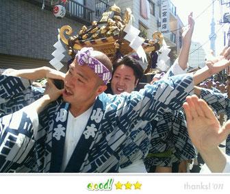 竹澤昭太郎さん: 三社祭