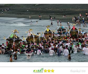 松下崇一さん: 浜降祭