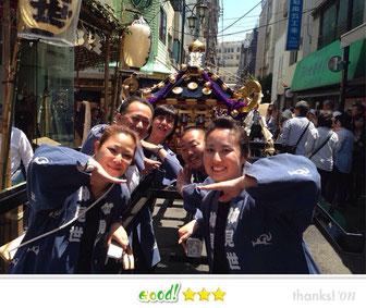 佐々恵美さん: 三社祭