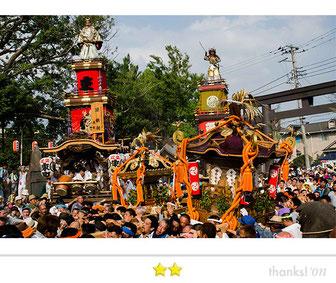 松下崇一さん: 辻堂諏訪神社例大祭