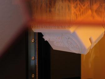 """""""Bios&Zoe"""": Beschichteter 3D-Druck für die Ausstellung """"Wortkörper"""" von Dr. Johann Berger. 3D-Kunst GmbH"""