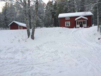 Holiday house in swedish Laponia, Ferienhaus in schwedisch Lappland