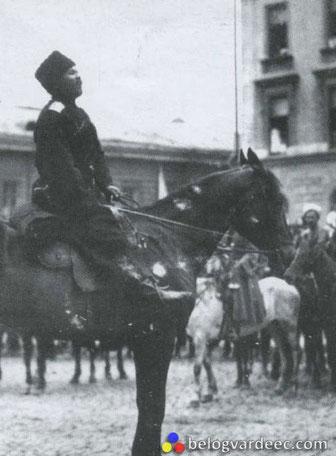 Командир Сводного Кубанско-Терского конного корпуса Топорков Сергей Михайлович