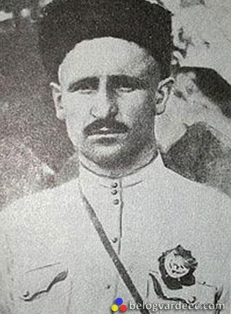 Командующий бригадой Жлоба Дмитрий Петрович. Расстрелян своими же в 1938 году