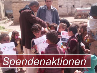 Stop the WAR in Yemen - Spendenaktionen