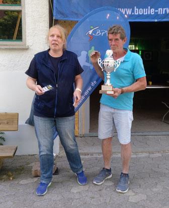 Bezirksmeister Westfalen 2018 Doublette Mixte