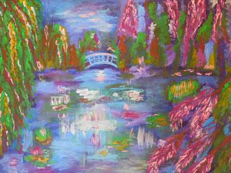 Lass Dich von Deinem Lieblingsmaler inspirieren. Inspiriert durch Monet.