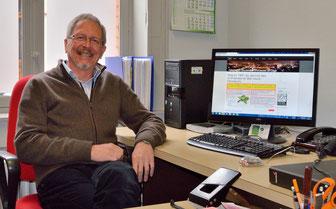 Jean Glaude, responsable Web de l'ARALg