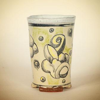 keramik,becher,andre bauersfel,keramik,