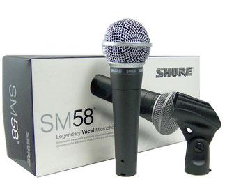Shure SM 58 LC, Gesangsmikrofon, Fabiani Guitars, Calw Pforzheim Nagold