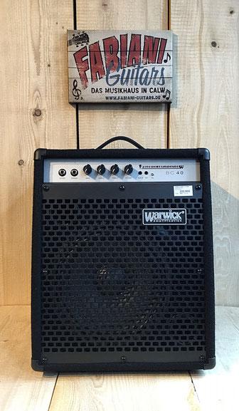 Warwick BC 40 E- Bassverstärker, Musik 75365 Calw