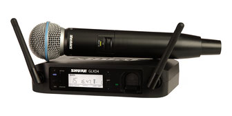 Shure GLXD 24 Beta 58, Wireless Mikrofon, Funkmikrofon Shure, 75365 Calw