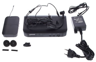 Shure BLX14/PGA31 HEADSET, Kopfbügel Mikrofon mit Sender, 75365 Fabiani Guitars