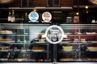 Ausgezeichnet zum Besten Cheesecake der Stadt