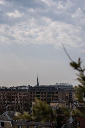 Blick über den östlichen Stadtteil Kopenhagens