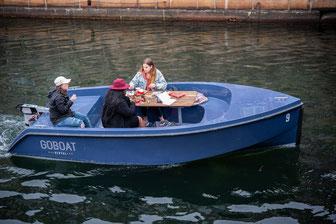 Steht definitiv auf meiner Liste! Frühstück auf dem Boot!