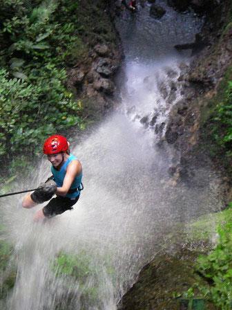 Canyonnering La Fortuna