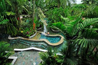 Hot Springs near to La Fortuna