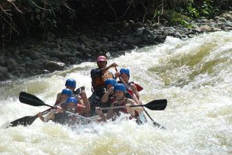 Balsa River - rafting Class II & III