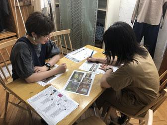 直営店スタッフと卸営業とのミーテイング(月2回)