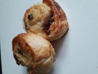 petit pain aux raisins sans gluten sans lactose express