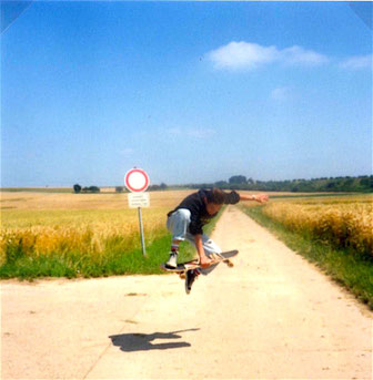 Frontside Boneless, Longboarding, Skateboarding, Skate to meditate