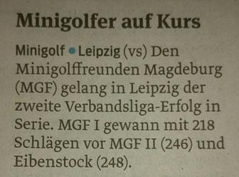 Leipzig Filz Saison 2015