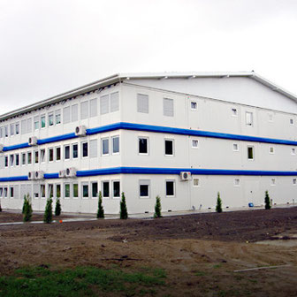 Жилые модульные здания и общежития