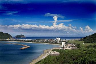 トンボロ、甑島、風景