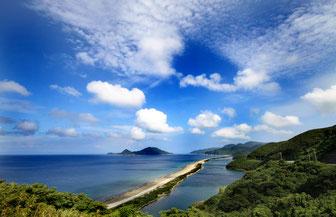 長目の浜、甑島、上甑