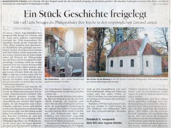 Elka Beutel und Maria Knackmuß, Kirche Philippsthal