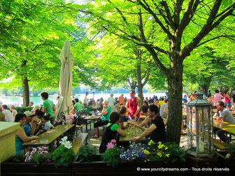 À ne pas manquer lors du visite à Munich: les Biergarten