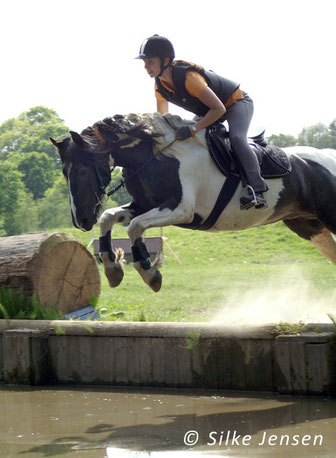 "I try to make my horses be ""all-rounders"" in dressage, jumping and cross country as well as hacking and horsemanship."