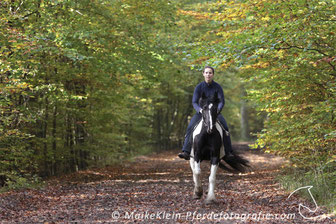 "Going for a gallop works very well for my pony ""Maybe"""