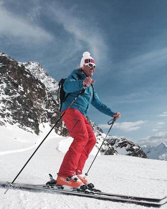 Platzgummer Sepp, maestro di sci, skilehrer, skirent